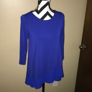 Vince Camuto Layered Blouse